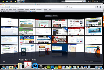 Windows 7 Mac Interface