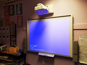 Smartboard  Installation