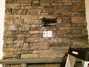 Stone TV Mounting